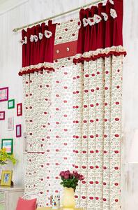 【摩尔登】卡通动物棉印花窗帘 大厅窗帘 卧室印花窗帘品牌
