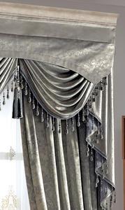 【摩尔登】2017高端大气的欧式花型窗帘 卧室大厅摩尔登窗帘品牌