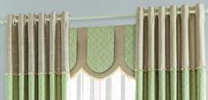 【摩尔登】2017光触媒技术窗帘 简约的小饶条纹 穿透式的书房客厅窗帘布艺品牌加盟