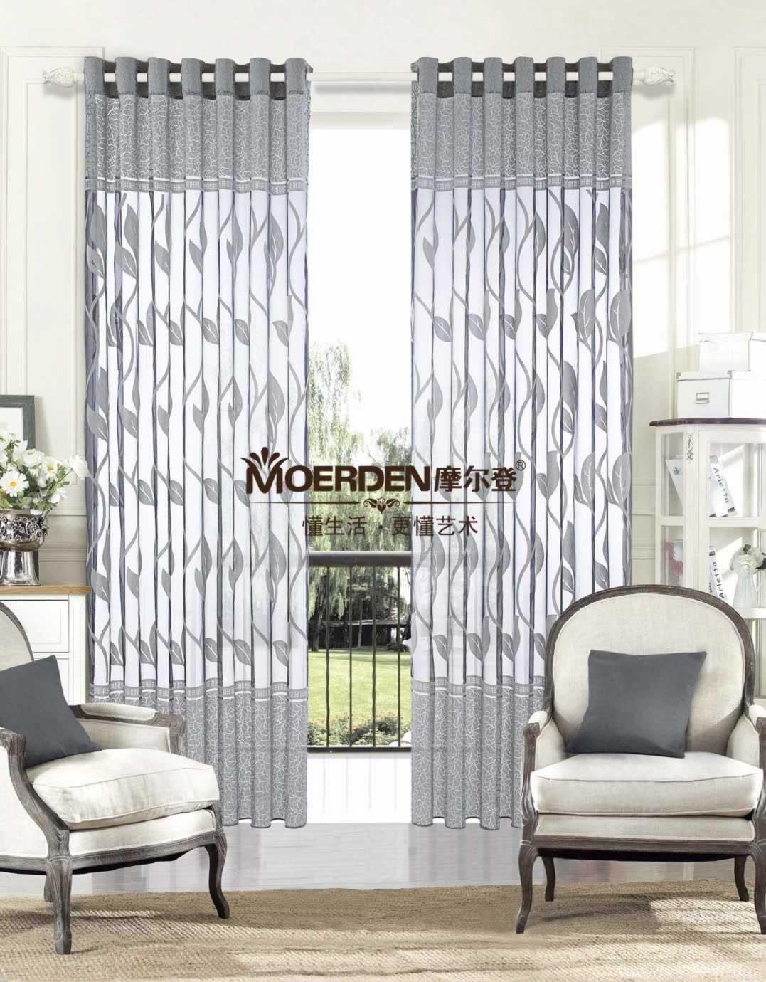 客厅窗帘效果图和款式选择