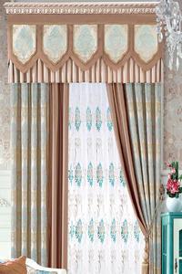 【摩尔登】客厅卧室窗帘定做 新款欧式奢华风典雅气质范