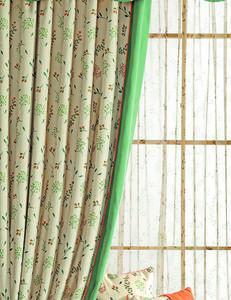 【摩尔登】2017美式数码印花窗帘  软装布艺的温馨舒适卧室大厅摩尔登窗帘品牌加盟