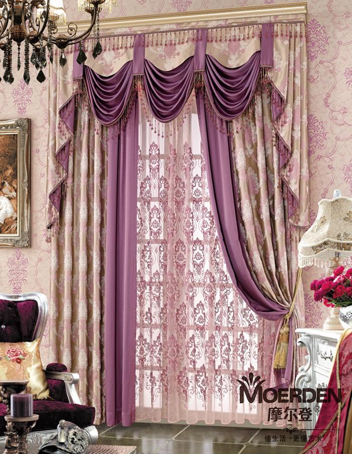 客厅窗帘颜色怎么搭配