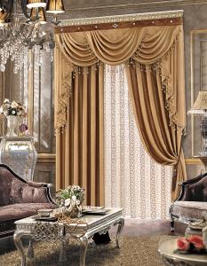 【摩尔登】遮光系列  品牌时尚3D压花全遮光简约卧室窗帘