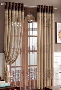 【摩尔登】2017高端大气锦绣中式风格窗帘 高贵大气的家居装饰窗帘 摩尔登窗帘品牌