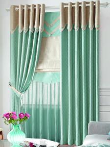【摩尔登】2017光触媒技术窗帘 简约的小饶条纹 书房客厅窗帘布艺品牌