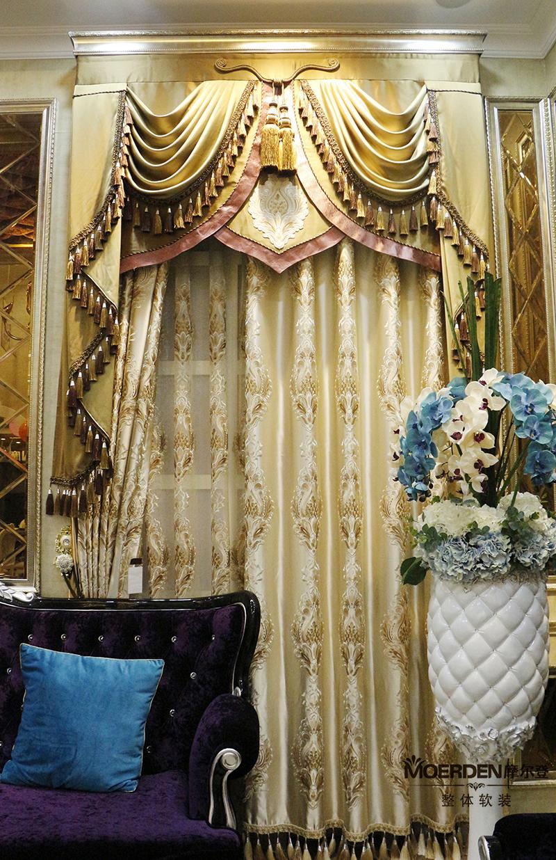 客厅窗帘颜色搭配图片