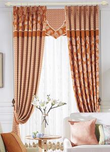 【摩尔登】简洁利落  几何图案色彩明亮 卧室大厅窗帘品牌布艺
