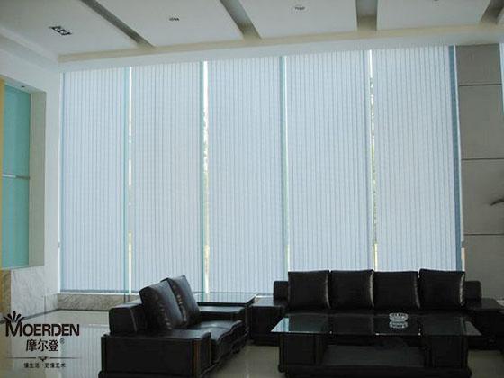 办公室窗帘效果图