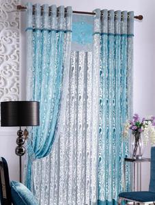 【摩尔登】都市时尚炫彩镂空窗帘 彰显绅士品格的卧室窗帘布艺 窗帘品牌