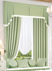 【摩尔登】简洁个性简单大方 清新的色彩 卧室大厅窗帘定做