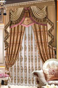 【摩尔登】新品奢华欧式窗帘丝绒典雅高贵气质