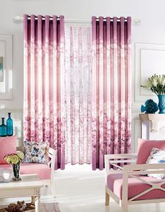 【摩尔登】中式棉质卧室飘窗阳台女孩婚房窗帘包邮