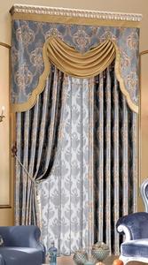 【摩尔登】奢华欧式典雅贵族宫廷色彩窗帘  卧室客厅窗帘品牌
