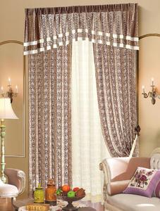 【摩尔登】高精密的镂空亮色窗帘 低调的奢华 卧室大厅窗帘品牌布艺