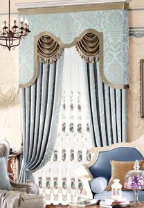 【摩尔登】低调奢华欧式窗帘 卧室大厅别墅窗帘定做